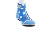 荷蘭 Duukies 摺疊防滑輕便鞋 - 湛藍星