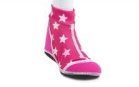 荷蘭 Duukies 兒童摺疊防滑輕便鞋 - 粉亮星