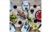 西班牙復古花磚桌飾墊 <br>特長桌飾墊 l 極地之美