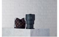 英國W10 Portobello<br>波多貝羅頂級不鏽鋼雙壁折疊環保杯<br>迷霧黑