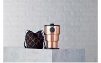 英國W10 Portobello<br>波多貝羅頂級不鏽鋼雙壁折疊環保杯<br>玫瑰金
