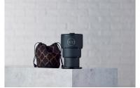 英國W10 Portobello<br>波多貝羅頂級不鏽鋼雙壁折疊環保杯(2入組)顏色請備註
